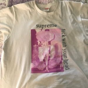Forget the name but supreme tee